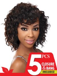 click here 5 different curl patterns